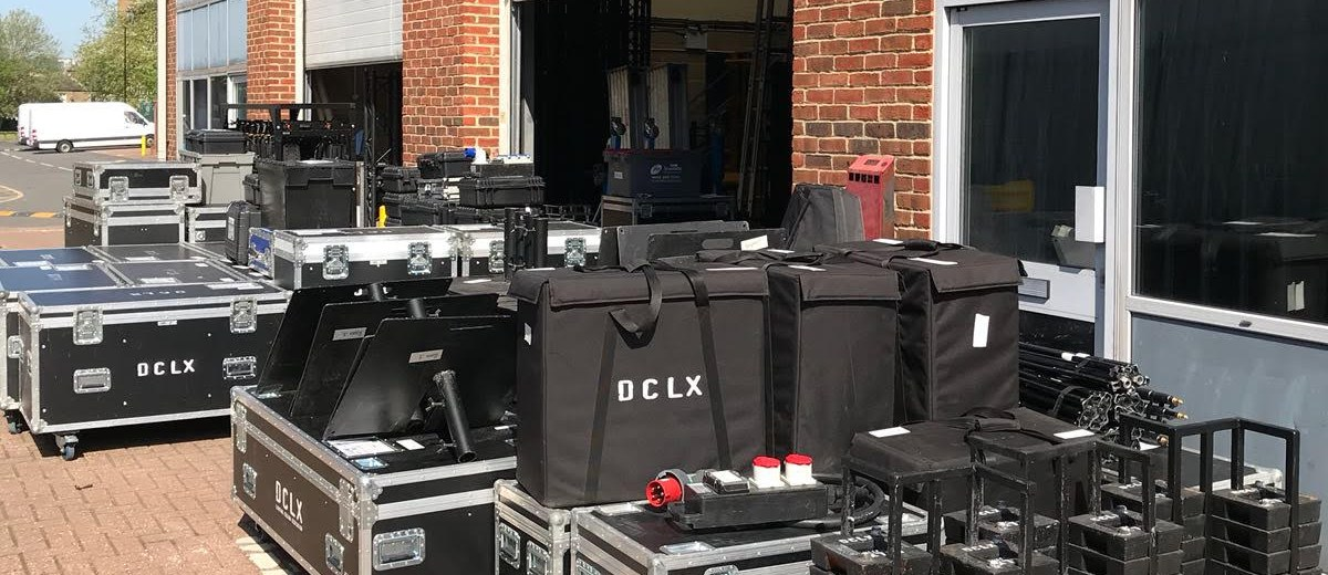 Lighting Hire Equipment from DCLX based in London